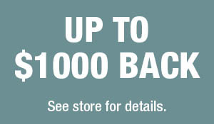 Up to $1000 back during National Karastan Month at Best Flooring Center.  See store for details.